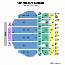 fox theater detroit seating chart fox theater detroit tickets fox
