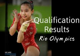 rio olympics qualification results