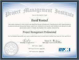 Pmp Certified Davewentzel Com