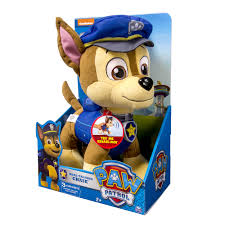 Paw Patrol Deluxe Lights And Sounds Plush Real Talking Rubble Paw Patrol Deluxe Lights And Sounds Plush Real Talking