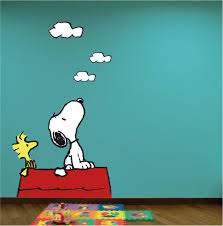 fashionable ideas snoopy wall art home pictures pretty looking layout design minimalist cafepress uk decals canvas