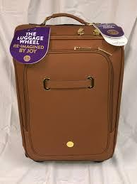 upc 728109335150 product image for joy mangano the christie carryon luggage cognac upcitemdb com