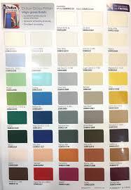 Dulux High Gloss Colour Chart Dulux Gloss Finish 5l