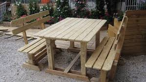 cool pallet outdoor furniture