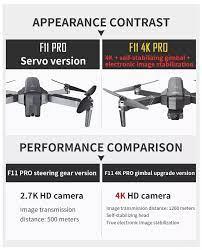 Trả góp 0%][ MỚI 2020 KÈM BALO ] Flycam SJRC F11 PRO Camera 4k Gimbal trống  rung 2 Trục bản nâng cấp của SJRC F11 PRO - Camera 4K - Bay 25 Phút - 2 GPS