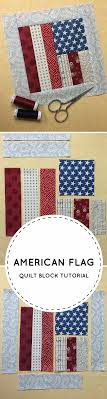 Best 25+ Patriotic quilts ideas on Pinterest | Quilting, Quilt ... & Flag Quilt Block Tutorial: FREE on Craftsy Adamdwight.com