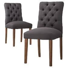 upholstered dining chairs target