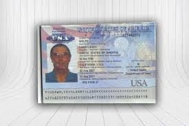 Us Passport Card Template Us Passport Template Make Your Own Fake Id Wickybay