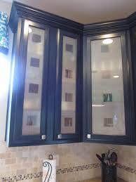 kitchen cabinets modern glass