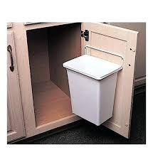 trash can cabinet door mounted trash can in cabinet trash cans kitchen trash can cabinet plans trash can kitchen cabinet door