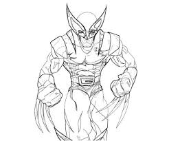 Small Picture Beautiful Wolverine Coloring Pages 20 In Free Colouring Pages with