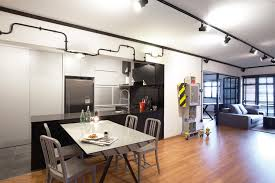 Small Picture An industrial HDB flat thats more sleek than rough Home Decor