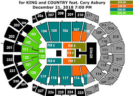 Sprint Arena Kansas City Seating Chart For King Country Sprint Center