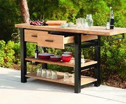 titan teak outdoor serving table7