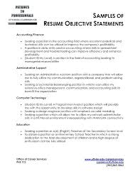 Sample Accounting Resume Objective 13 14 Staff Accountant Resume Objective Southbeachcafesf Com