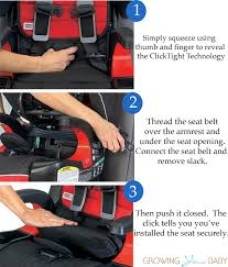 install the car seat britax tight technology