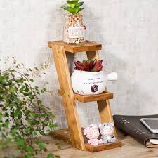 Small Table Display Stands Kitchen Organizer Bamboo Flower Rack 100 Tier Flower Shelves Flower 8