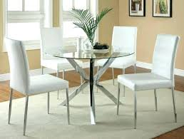 round glass dining table set for 6 round glass dining table and 6 chairs large size