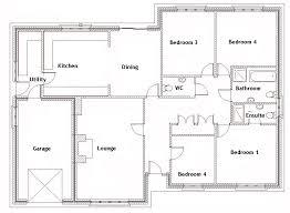4 bedroom floor plans. 4 Bedroom House Blueprints Best 15 Bungalow Plans Home Designer. » Floor