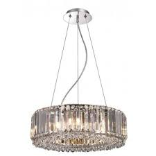 glam crystal lighting pendant lights