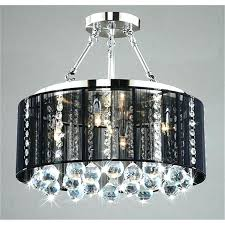 chandeliers drum and crystal chandelier top notch with black shade 3 oil rubbed bronze chandeli