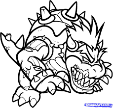 Small Picture Bowser Coloring Pages Coloring Pages Online