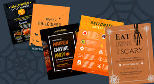 Halloween Flyers Templates 7 Spooky Halloween Flyer Templates Venngage