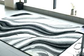white area rug black and round modern wool durable classy rugs for ssy contemporary white area rug