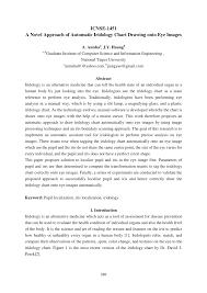 Iridology Chart Pdf Pdf A Novel Approach Of Automatic Iridology Chart Drawing