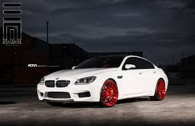 BMW Convertible custom m6 bmw : BMW M6 Gran Coupe - ADV15 M.V2 Concave Wheels - Brushed Gloss Red ...