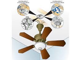 ceiling fan box. step 2 ceiling fan box t