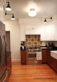 Moroccan Style Kitchen Tiles Kitchen Backsplash Cement Tile Shop Blog