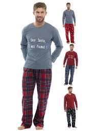 Mens Designer Pyjamas Details About Luxury Mens Pyjamas Novelty Xmas Print Pjs Fleece Lounge Set Gift Size Uk S Xxl