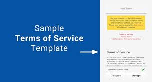 Website Terms And Conditions Template Wonderful Sample Terms Of Service Template TermsFeed