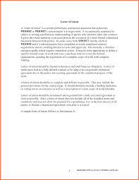 Classy Resume Letter Of Intent Template On 13 Letter Of Intent For A