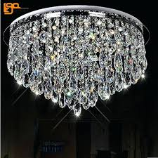 new design led crystal chandeliers home light chandelier flush mount modern lighting rectangular