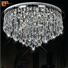 new design led crystal chandeliers home light chandelier flush mount modern lighting rectangular
