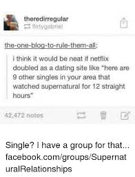Dating Meme  Theredirregular Flirtygabriel The One Blog To Rule