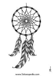 Dream Catcher Tattoo Stencil