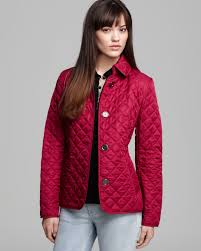 Lyst - Burberry Brit Copford Quilted Jacket in Red & Gallery. Previously sold at: Bloomingdale's · Women's Burberry Brit Copford  Women's Quilted Jackets Adamdwight.com