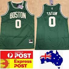 Jayson tatum with the veteran moves 👀. Boston Celtics Jayson Tatum Jersey Adult Size Au Stock Ebay
