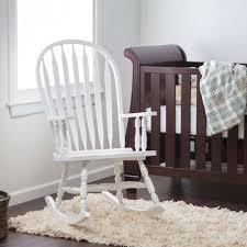 white wooden rocking chair. Plain White Intended White Wooden Rocking Chair N