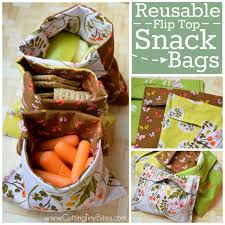 sew a diy reusable snack bag with velcro from the diy mommy how to make cloth napkins for your child s lunchbox from buggy and buddy zippered snack bag