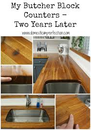 my butcher block countertops two year butcher block countertops pros and cons as corian countertop