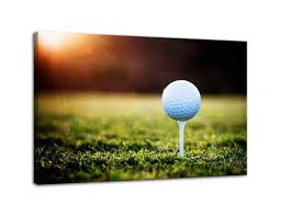 Winning Putt Light And Sturdy Box Amemny Canvas Modern Wall Art Cool Golf Course Landscape Painting Posters And Artwork Hd Prints Pictures Decor For Living Room Framed Stretched Ready
