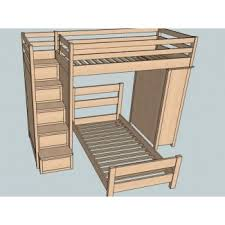bunk bed with stairs plans. Bunk Bed With Stairs Plans 5 Bunk