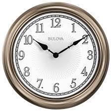 light time wall clock by bulova