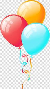 Three Assorted Color Balloon Balloon Birthday Party