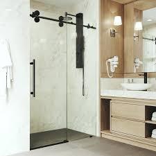 elan x adjule single sliding shower door with technology frameless doors glass south africa