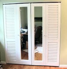 bi fold mirror closet door. Bifold Closet Door Track Bi Fold Louvered Mirrored Doors Parts . Mirror T